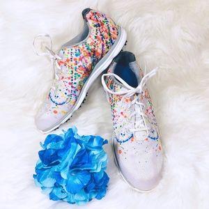 FootJoy Womens EmPower Golf Shoes Splatter Paint 9